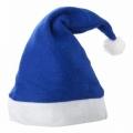 niebieska czapka Mikołaja 76AA1655