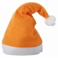 pomarańczowa czapka Mikołaja 76AA1655