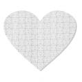 puzzle serce 19 x 18 cm 76 elementów