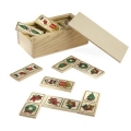 drewniane świąteczne domino 08BC071