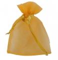 żółty tiulowy worek prezentowy 22RD920