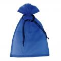 niebieski tiulowy worek prezentowy 22RD921