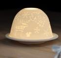 świecznik z porcelany 21BC019